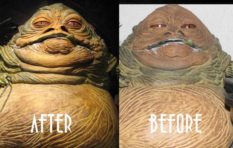 Jabba GG repeint... Comp